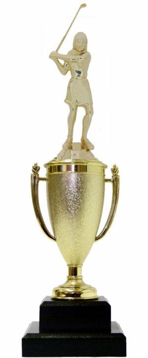 Golf Female Trophy 340mm