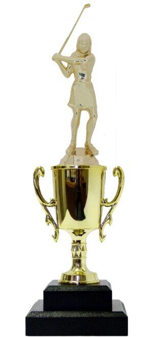 Golf Female Trophy 305mm