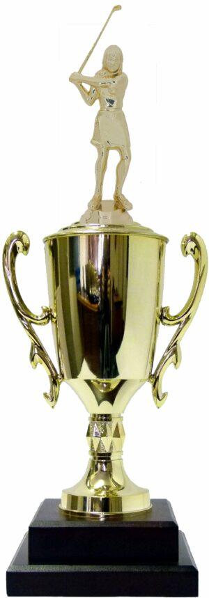 Golf Female Trophy 420mm