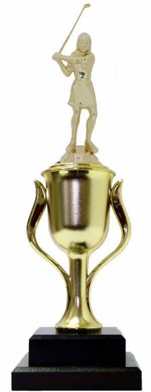 Golf Female Trophy 380mm
