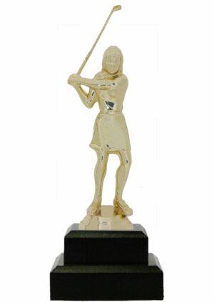 Golf Female Trophy 180mm