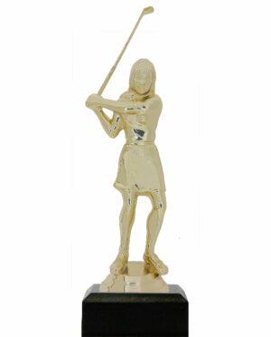 Golf Female Trophy 160mm