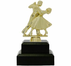 Dancing Couple Trophy 165mm