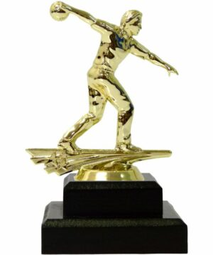 Ten Pin Bowling Allstar Male Trophy 175mm