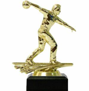 Ten Pin Bowling Allstar Male Trophy 150mm
