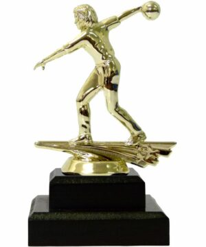 Ten Pin Bowling Allstar Female Trophy 175mm