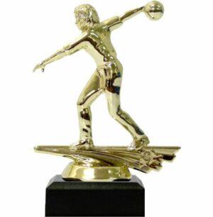 Ten Pin Bowling Allstar Female Trophy 150mm