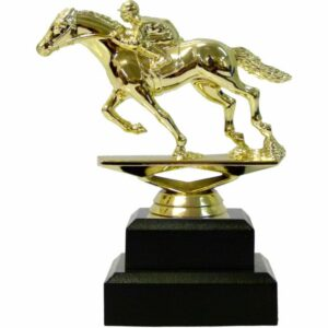 Horse Racing Trophy 135mm