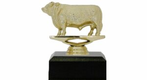 Hereford Bull Trophy 100mm