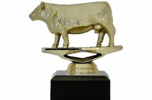 Hereford Cow Trophy 100mm