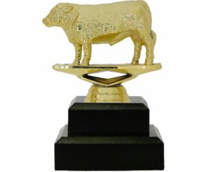 Hereford Steer Trophy 125mm