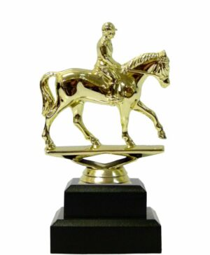 Horse Equestrian Trophy 165mm