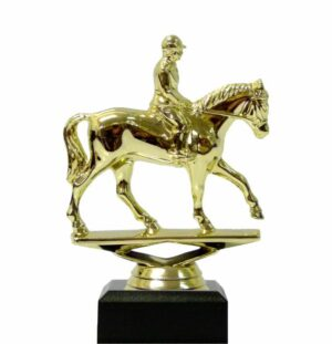 Horse Equestrian Trophy 140mm