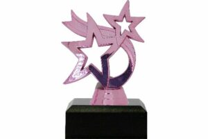 Dancing Star Trophy PINK 95mm