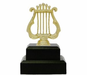 Music Lyre Trophy 145mm