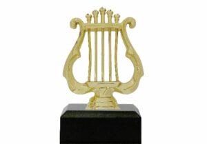 Music Lyre Trophy 125mm