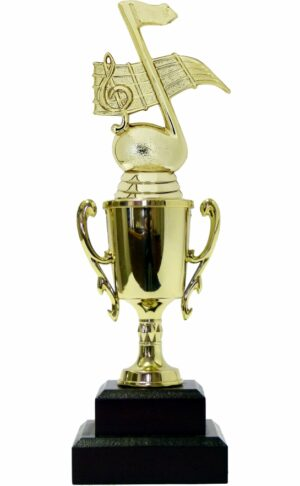 Music Note Trophy 245mm