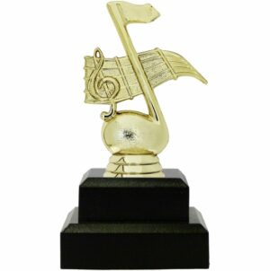 Music Note Trophy 145mm