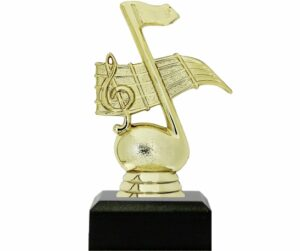 Music Note Trophy 125mm
