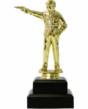 Pistol Shooter Male Trophy 180mm