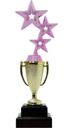 3 Stars Trophy PINK 290mm