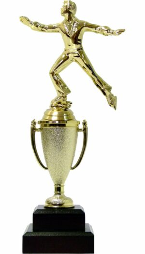 Ice Skater Male Trophy 280mm