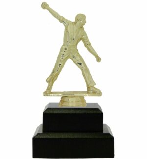 Cricket Bowler Trophy 180mm